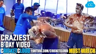 Hardik Pandya CRAZIEST BIRTHDAY Celebration EVER - FULL VIDEO !!