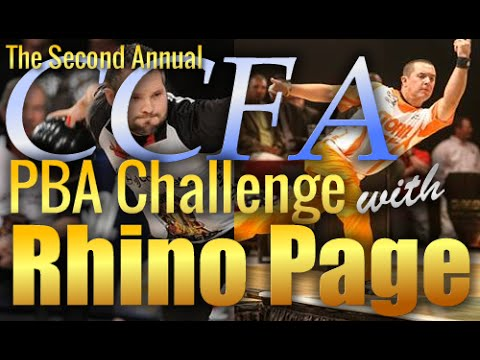 The CCFA PBA Challenge with Rhino Page Complete Championship Finals