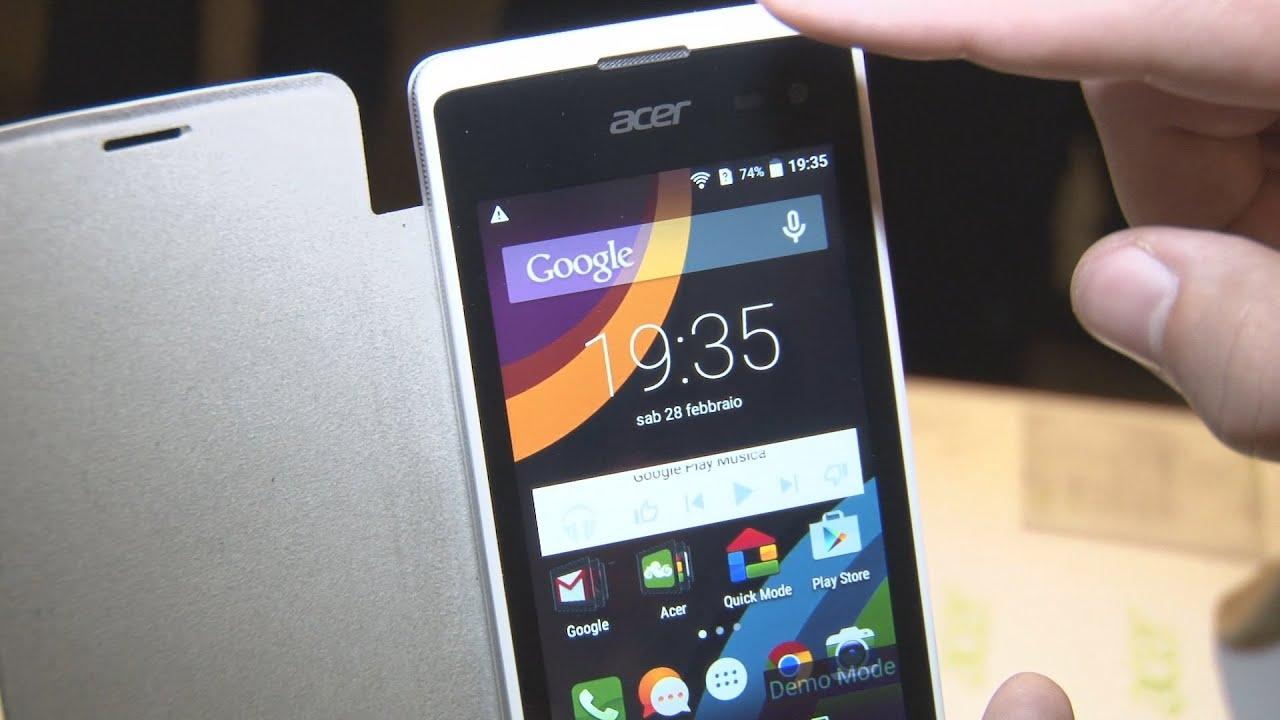 MWC 2015 Coup Doeil Sur Les Smartphones Acer Liquid Z220 Et M220