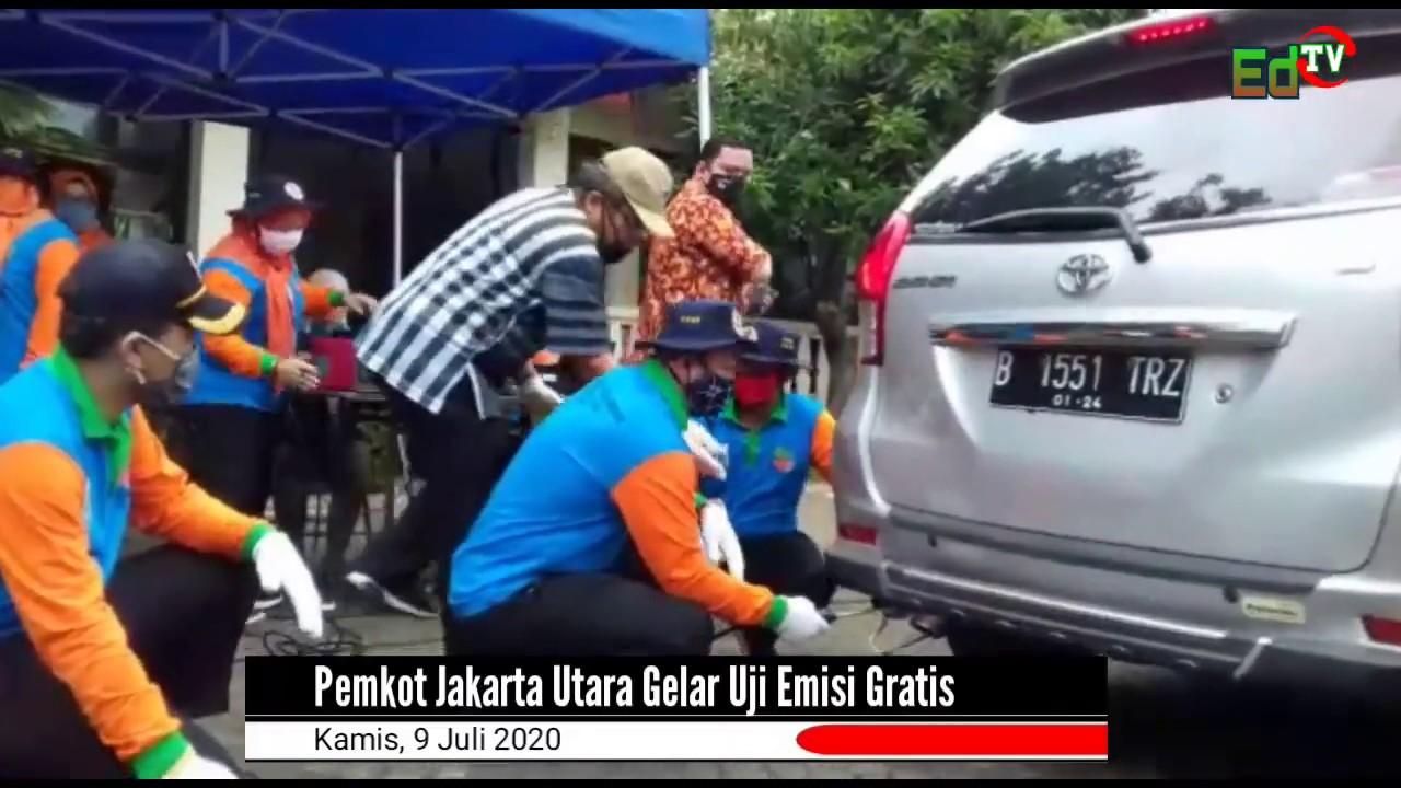 Pemkot Jakarta Utara Gelar Uji Emisi Gratis