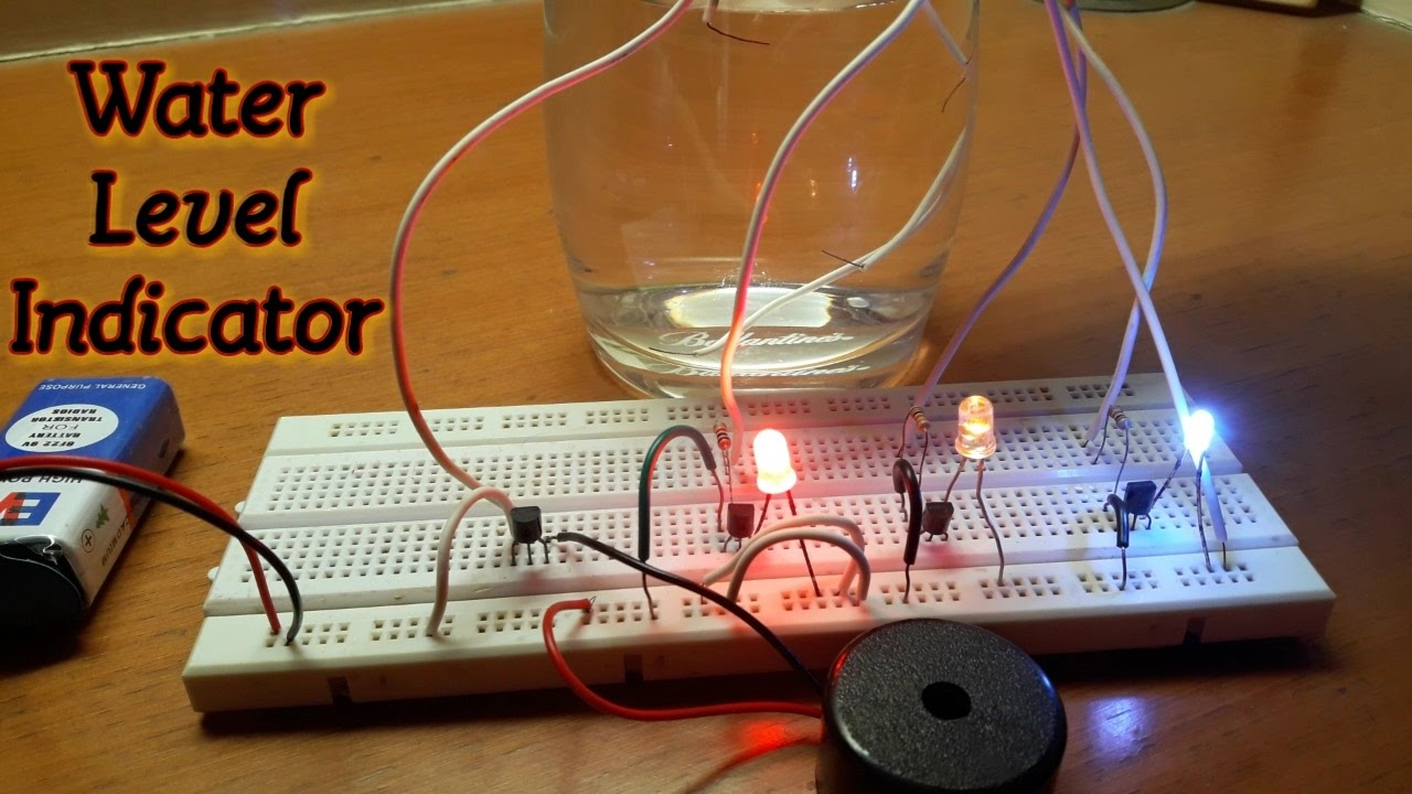 How To Make A Quot Water Level Indicator Quot On Breadboard Hd
