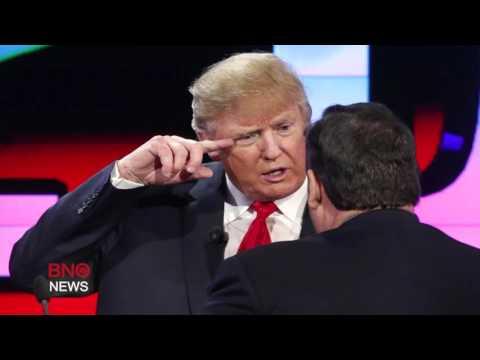Governor Chris Christie Endorses Donald Trump for President