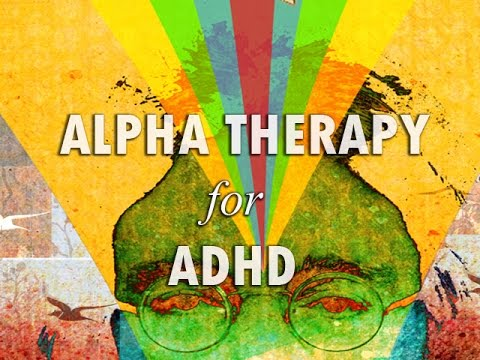 Alpha Therapy for ADHD with binaural beats