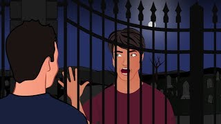 True GRAVEYARD Horror Story  - Animated Horror Stories