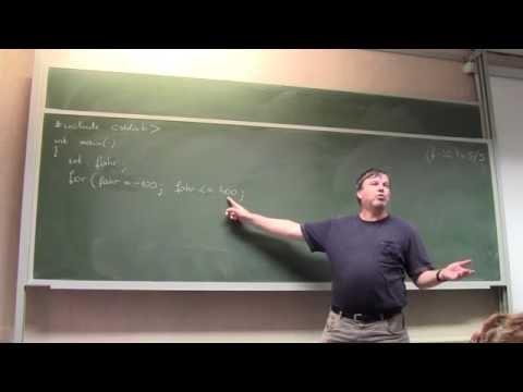 C programozás előadás (Porkoláb Zoltán) 2. 20160921