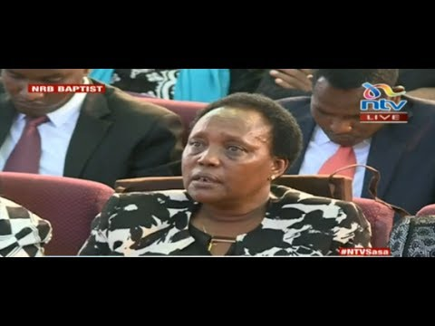 Hellen Nkaissery's eulogy to her husband Joseph Nkaisserry