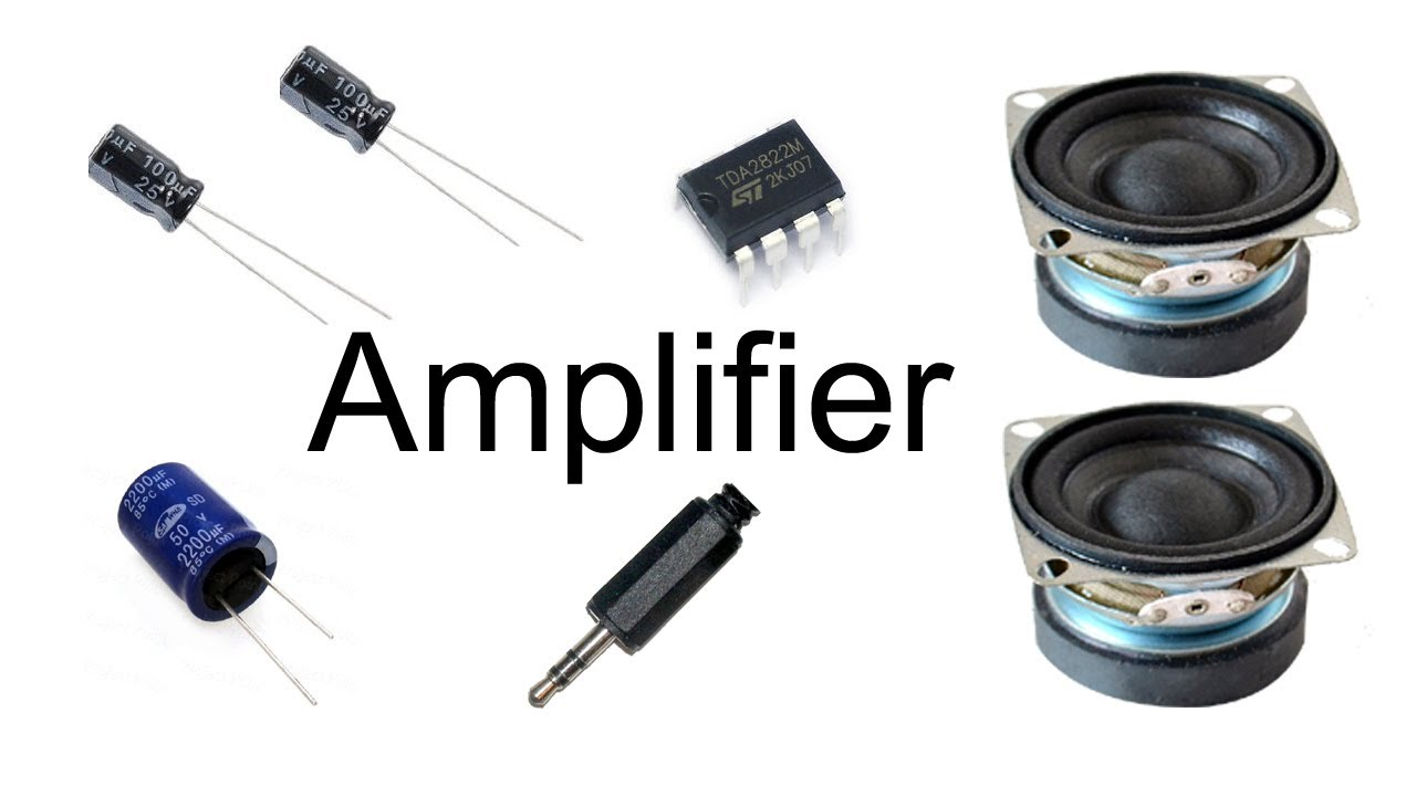 How To Make Amplifier Tda2822 Youtube Low Power Stereo