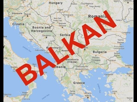 All Balkan Countries and Their Capitals with a small information