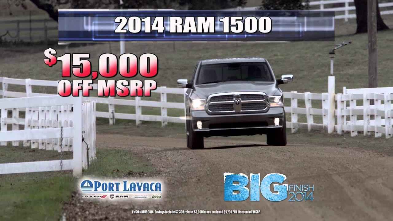 Port Lavaca Dodge >> 2014 November Port Lavaca Dodge Chrysler Jeep 15 Youtube