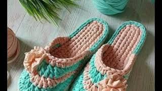 newest crochet ladies shoes de…