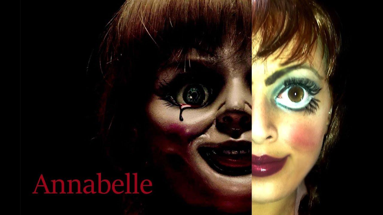 Trucco Annabelle Halloween.Annabelle Halloween Makeup Tutorial 2014