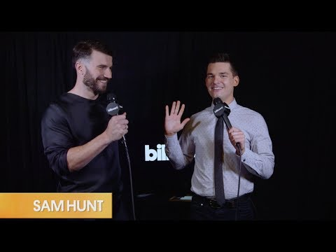 Sam Hunt Stops By Billboard's CMT Music Awards Backstage Live Stream