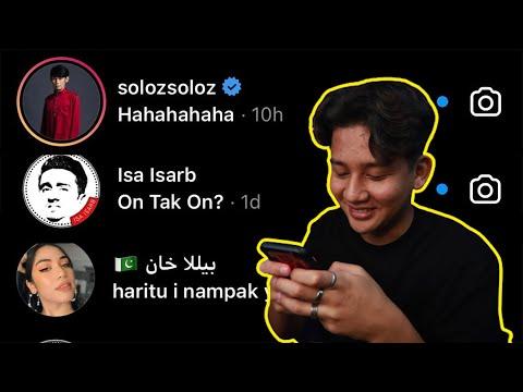 DM SEMUA YOUTUBER MALAYSIA   ISA ISARB , AZFAR HERI  , SOLOZ BALAS WOI!!!!! * NO CLICKBAIT