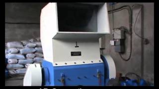 heavyduty plastic Scrap grinding machine