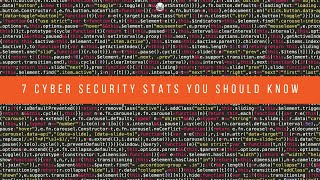 ADKtechs Blog Teaser: 7 Cyber Security Stats You Should Know