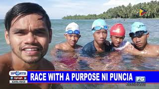 Race with a purpose ni Puncia