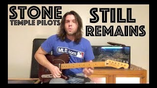 Guitar Lesson: How To Play Still Remains By Stone Temple Pilots