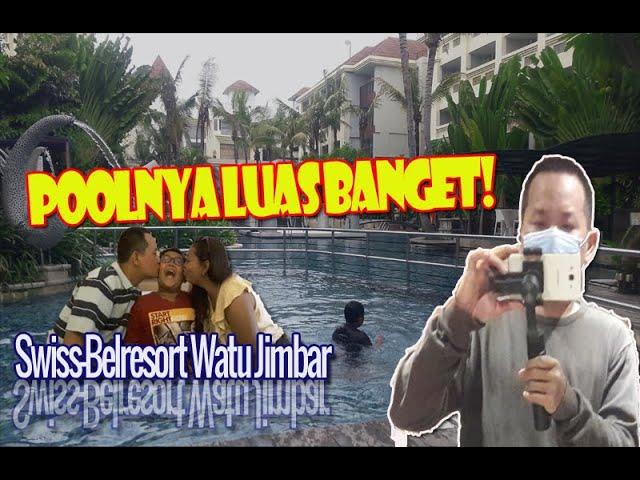 Hotel Keluarga di Bali ini Poolnya LUAS banget!!   Swiss-Belresort Watu Jimbar