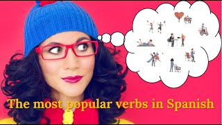 Learn Spanish Fast - Learn the most popular verbs in Spanish with examples