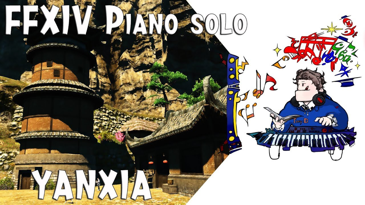 YANXIA ( 얀샤 ) Theme For Piano Solo (Arr.by Terry:D