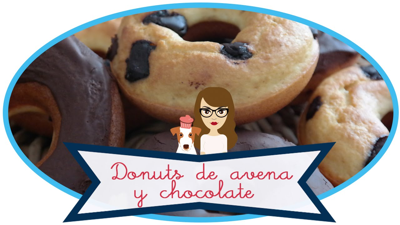 Donuts De Avena Y Chocolate Sin Azúcar Fit Receta