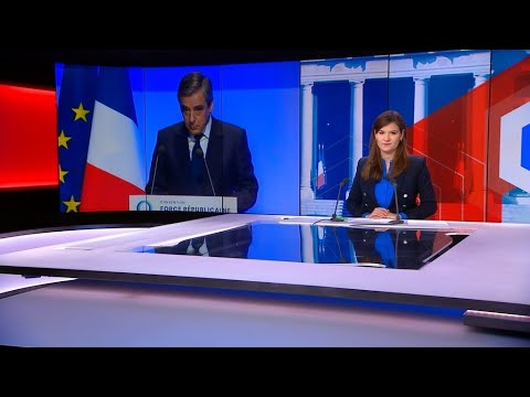Defeated presidential candidate Fillon bids farewell to French politics