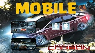 Need for Speed Carbon Mobile Android & iOS