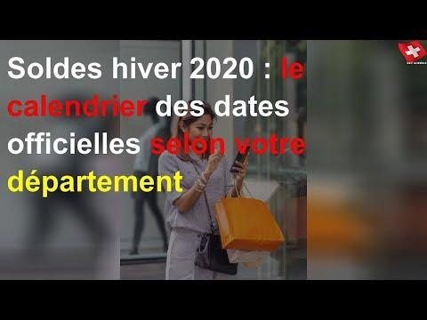 Soldes Hiver 2020 : Le Calendrier Des Dates Officielles Selon Votre Département