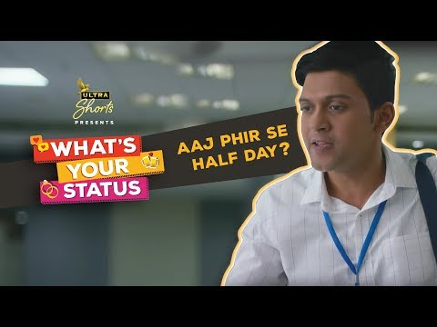 Half Day | The Viral Office Rant | What's Your Status | Webseries | Cheers!