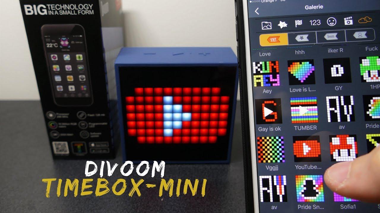 timebox mini divoom l 39 enceinte connect e ultime. Black Bedroom Furniture Sets. Home Design Ideas