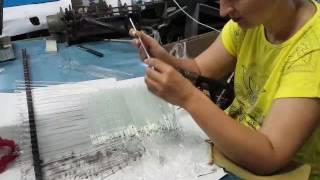 Video how we do glass stir rods