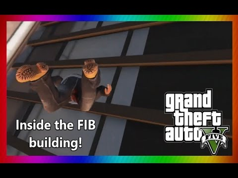 How To Get In Fib Building Gta  Story Mode