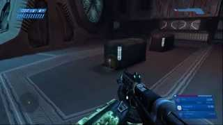 Terminal 7 on The Library in Halo CE:A (MCC)