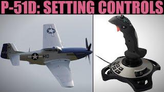 P-51D Mustang: Setting Joystick Controls | DCS WORLD