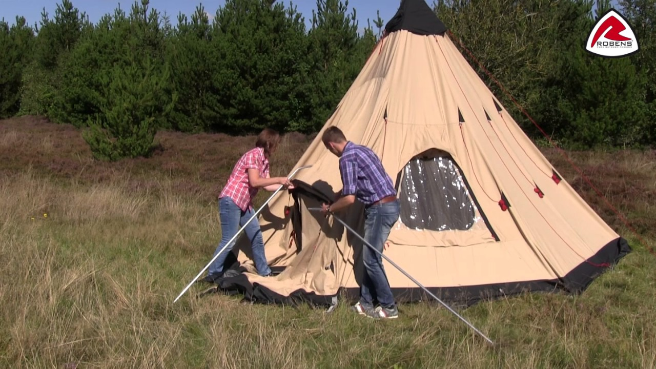Robens Kiowa Tent Pitching Video (2015) & Robens Kiowa Tent Pitching Video (2015) - YouTube