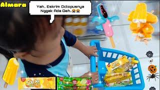 Kasian Ara Mau Beli Eskrim Octopus Nggak Ada🍦Jadinya Beli Eskrim Solero Sama Monkey Banana