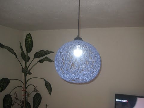 Making Chandelier with Balloon and Glue & Every Color Can Be Made ..!