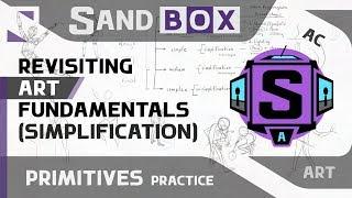 (Свободная визуализация) Сессия 66 - Creative Sandbox [RUS/eng] (Пересмотр основ рисования)