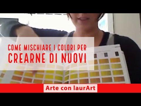 pittura tutte le tecniche-come miscelare i colori e creare nuove