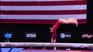 Sarah Finnegan - Beam - 2012 Visa Championships - Women - Day 1