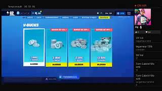 Live Fortnite en save the world and Battle Royal! Go 250 abos!