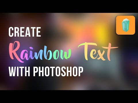 Quick Way to Create Colorful Texts in Photoshop: Hacks & Tricks