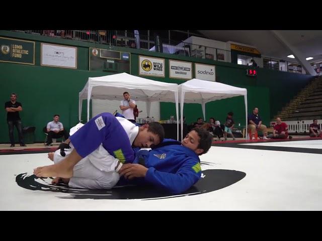 Micael Galvão (Melqui Galvão BJJ)  vs Jacob Kassama (Art of Jiu-jitsu)