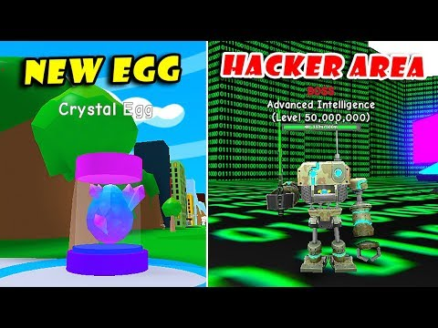 New Rebirth HACKER Area Update!! New Egg + Pets | RPG World Simulator!! [Roblox]