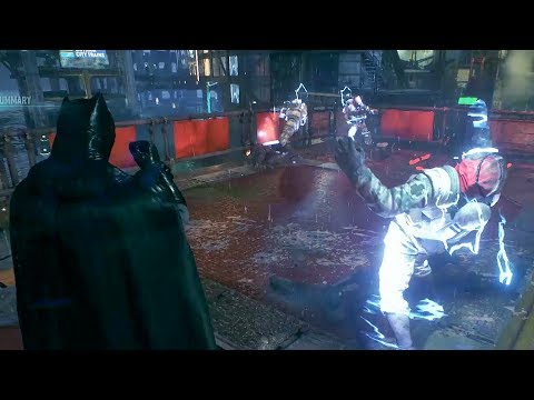 Batman Arkham Knight - Creative Stealth/Epic Takedowns