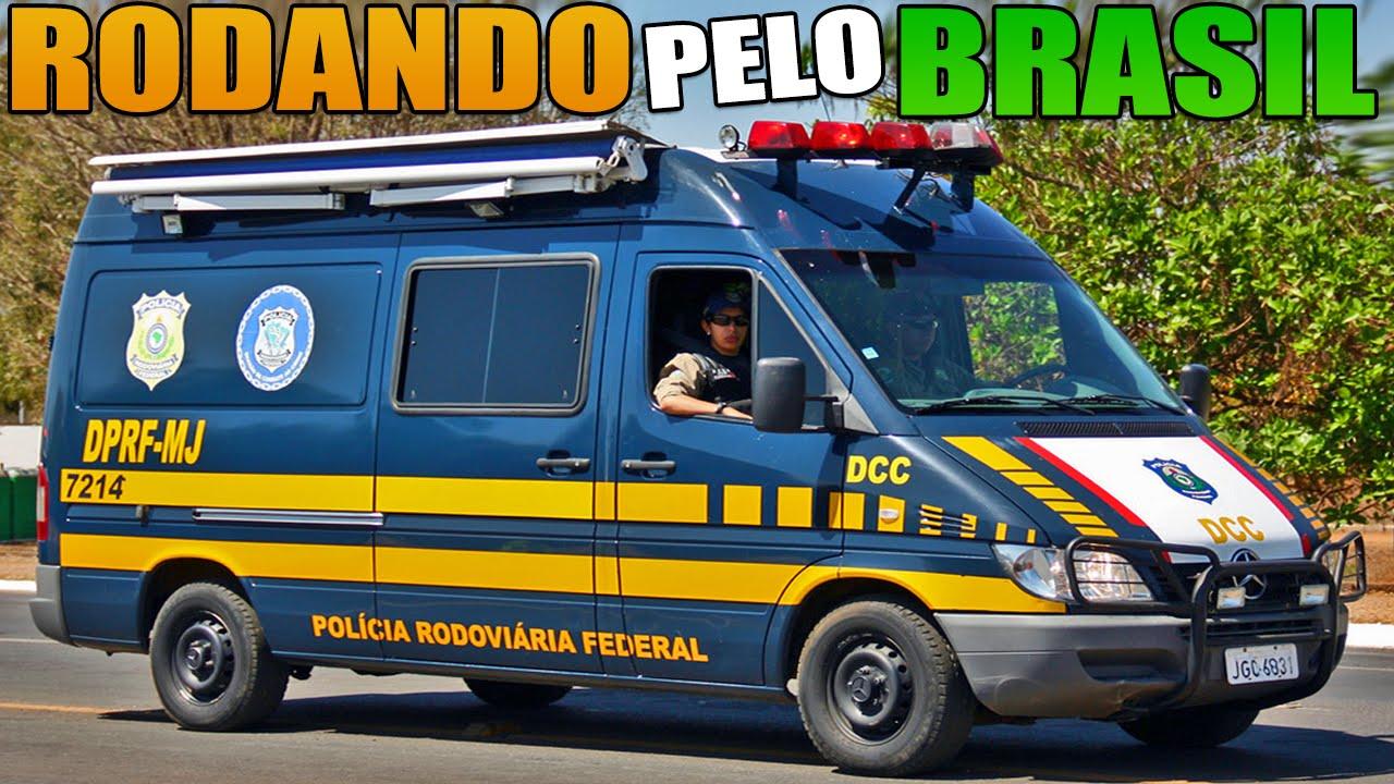 Policia Federal - Rodando Pelo Brasil - YouTube