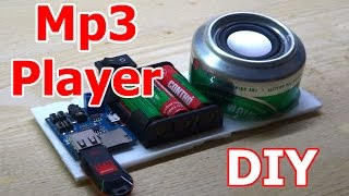 How to make Mp3 Player at home DIY Mp3 Player