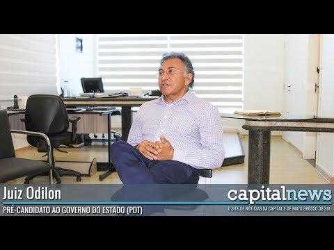 Coletiva de imprensa com o Juiz Odilon de Oliveira