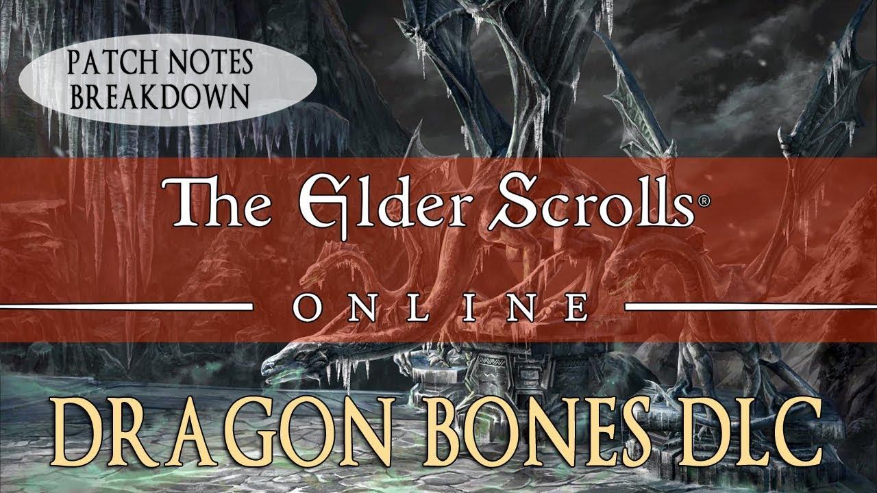 Elder Scrolls Online: Dragon Bones DLC Breakdown | Fextralife
