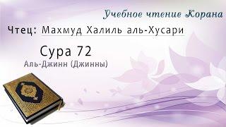Учебное чтение Корана. 72 Сура Аль-Джинн (Джинны)